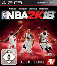 SONY PS3 NBA 2K16 Microsoft 16 2016 Basketball komplett deutsch OVP günstig gebr