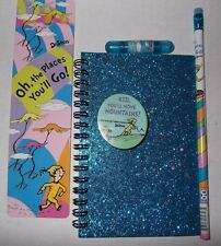 Dr Seuss Oh the Places You'll Go Gift Set-Notebook Pencil Great Graduation Gift!
