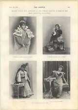 1901 Mme Rejane French Comedienne Fascinating Character Roles
