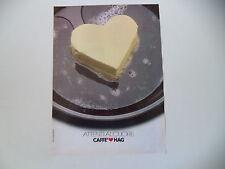 advertising Pubblicità 1980 CAFFE' HAG