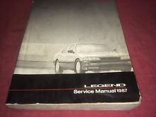 1987 acura LEGEND  OEM factory service manual   FREE SHIPPING