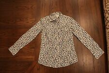 J.Crew Womens Perfect Fit Printed Floral Button Down Blouse Sz0 Liberty/London