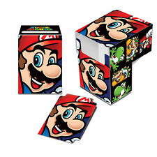 Super Mario Bros. Mario ULTRA PRO deck box CARD BOX FOR POKEMON MTG CARDS
