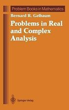 Problem Books in Mathematics Ser.: Problems in Real and Complex Analysis by...