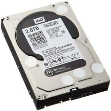 "Western Digital Black 2tb (7200 Rpm) Sata 6 Gb/s 64 Mb de 3,5 ""disco duro (interior)"