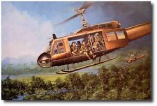 Magic Carpet Ride by Joe Kline - UH-1C Huey - Helicopter Art Prints