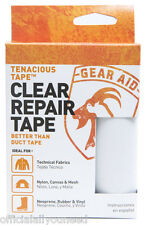 Gear Aid Tenacious Tape Ultra Strong Flexible Fabric Repairs (Clear)