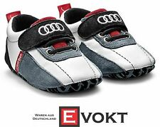 Audi Sport Baby Booties Size 17-18 Audi Collection Shoes Audi Sport Logo Genuine