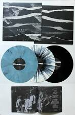 KYREST -fractures LP NEW on white vinyl w/black splatter - cursed,trainwreck