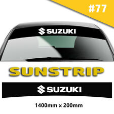 Suzuki Sport Sunstrip Car Stickers Decal Graphics Windscreen Stripes