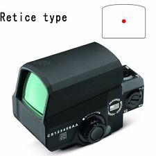 Tactical Holographic Red Dot Laser Dot Sight Scope 20mm Picatinny Rail 1 MOA Dot