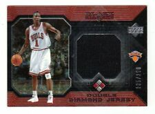 JAMAL CRAWFORD NBA 2004-05 BLACK DIAMOND JERSEYS DOUBLE DIAMOND (CHICAGO BULLS)