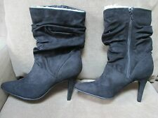 Brand New $100 a.n.a Eloise Mid Black Slouch Boots Size 11 Medium - ON SALE!
