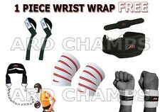 ARD CHAMPS™ Power Lifting set dipping belt knee hand wraps bar strap head harnes