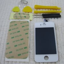 iPhone 4S LCD Assembly Digitizer WHITE 4 S Screen Display Front Glass OEM A1387