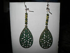 Homemade Bead & Design Dangle Earrings Handmade New!!!