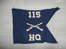 flag498 WW2 US Army Guide on 115th Regiment 29th Infantry Division Company HQ