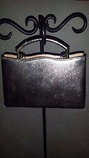 Vintage After Five Cocktail Bag & Coin Purse Clutch Shimmering Gold