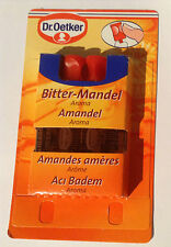 Dr Oetker Liquid Food Flavouring, Bitter Almond, 4 x 2ml, for baking & cakes.