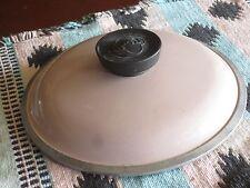 """Pink Enamel Aluminum 7"""" Club Pot Cookware  Lid"""