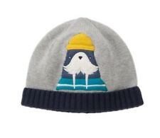 GYMBOREE Boys Nwt ANCHORS AWAY GRAY WALRUS SWEATER BEANIE HAT 4t - 5t