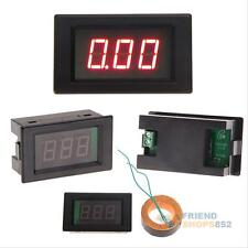 Red LCD AC 80-300V Volt Voltage Amp Panel Meter Voltmeter Ammeter Gauge 50A #F8s