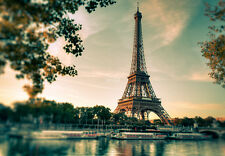 WALLPAPER MURAL PHOTO Eiffel Tower Paris France WALL DECOR PAPER GIANT ART City