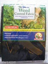 WEED CONTROL FABRIC GARDEN MAT*MULCH MEMBRANE COVER*BORDER*POTS*HANGING BASKET