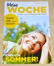 Weight Watchers Meine Woche 8.6 - 14.6 ProPoints™ Plan 2014 Wochenbroschüre *NEU