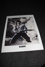 "SYLVESTER STALLONE signed Autogramm auf 20x28 cm ""RAMBO"" Foto InPerson RAR"