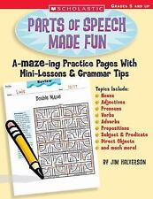 Parts of Speech Made Fun: A-MAZE-ing Practice Pages With Mini-Lessons & Grammar