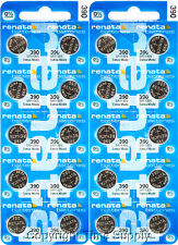 20 pc 390 Renata Watch Batteries SR1130SW FREE SHIP 0% MERCURY