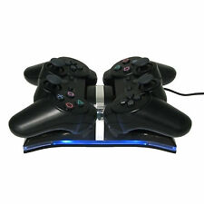 Dual USB Charger Dock Stand For Sony PS3 Playstation PS3 Slim Controller
