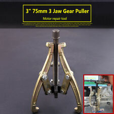 "3"" 75mm Gear / Hub Bearing Puller 3 Jaw Reversible Fly Wheel Pulley Remover Tool"