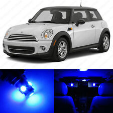 11 x Blue LED Lights Interior Package For Mini Cooper S R56 Hardtop 2006 - 2014