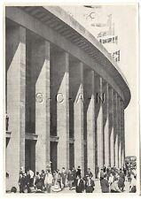 WWII GERMAN Large 1936 OLYMPIC Sports Photo Image- Olympic Stadium- Flags