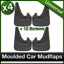 MOULDED Car MUDFLAPS Contour Mud Flaps Universal PEUGEOT 306 307 308 Fitted x4