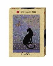 1000 PICE JIGSAW PUZZLE HY29534 - Heye Puzzles - 1000 Pc - Cats Silhouette