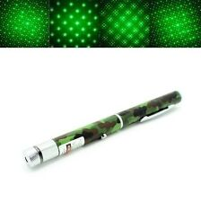 High Powerful Green Starry Laser Pointer Pen 532nm Beam Light Lazer Camouflage