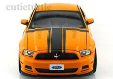 Shelby Collectibles 2013 Ford Mustang Boss 302 1:18 Diecast Orange Yellow SC 451