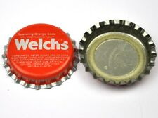 Vintage Coca Cola Welch's Sparkling Orange Soda Kronkorken USA Soda Bottle Cap