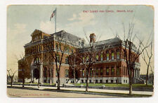 1909 DENVER EAST HIGH SCHOOL 3 DIFF POSTCARDS 2 SHOWING THE FIRST BLD. PC4452