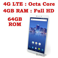 "NUEVO TECA LTE650 4G OCTA CORE 4GB-RAM 64GB 6.5"" Full-HD ANDROID 6.0 MOVILE"