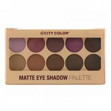 CITY COLOR Matte Eye Shadow Palette (GLOBAL FREE SHIPPING)
