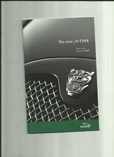 JAGUAR S TYPE 2.5 V6/V6 SPORT/SE,3.0V6 SPORT/SE,4.2 V8 SE/'R' PRICE LIST JAN2002