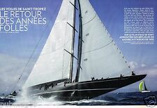 Coupure de Presse Clipping 2014 (8 pages) Les Voiles de Saint Tropez