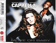 CAPPELLA - Move on baby CDM 12TR Italo Eurodance 1994 (RED BULLET) Holland