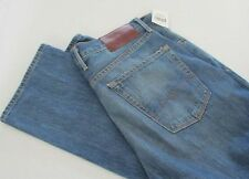 NWT Lucky Brand 121 Heritage Slim Button Fly Jeans White Oak Cone Denim 33 x 32