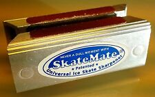 SkateMate patented handheld Ice Skate Sharpener / Conditioner for ALL ice ska...