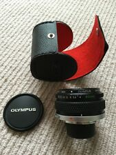 Olympus Zuiko 80mm F4.0 Bellows Macro Lens [bellows / tubes] +Case +Hood +Extras